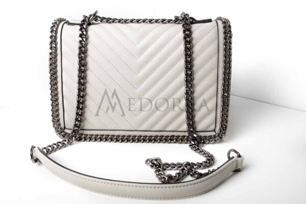 grey bag with chain 2