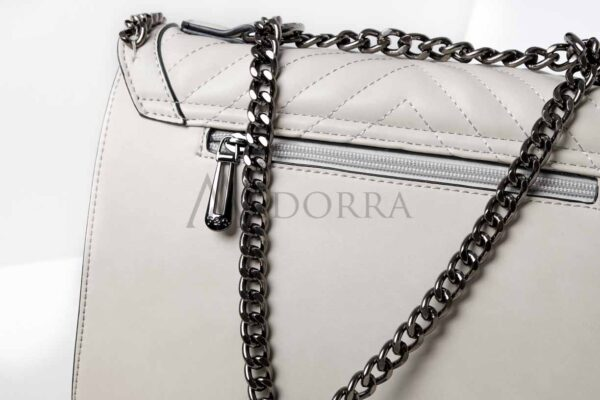 grey bag with chain 5